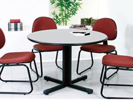 mesa reuni o concept redonda 2 mesas reuni o m veis para escrit rio smartflex m veis. Black Bedroom Furniture Sets. Home Design Ideas